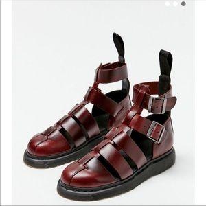 Dr. Martens Geraldo Charro Brando Leather Sandals